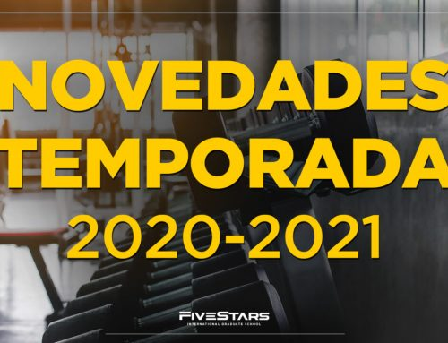 Fivestars IGS presenta novedades inéditas para la temporada 2020-2021
